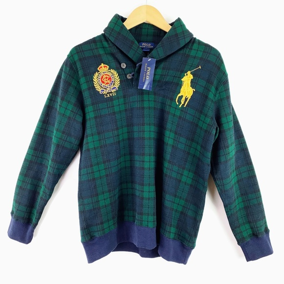 Polo by Ralph Lauren Other - Ralph Lauren Boys Plaid Pullover Sweater L 14-16
